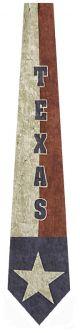 EW-9502 - Texas Flag Ties Neckties detailed image