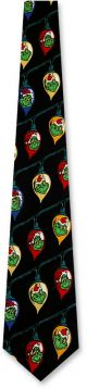 GR-100 - Grinchmas Lights Ties Neckties detailed image
