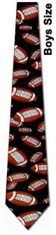 KD-10060 - Boys Footballs allover Ties Neckties detailed image