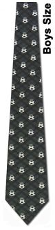 KD-10070 - Boys Mini Soccer balls Ties Neckties detailed image