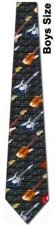 KD-10080 - Boys Guitars Diagonal Ties Neckties detailed image