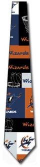 RM-251572 - NBA Wizards Block and Play Ties Neckties detailed image