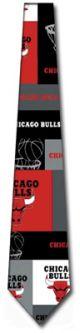 RM-251612 - NBA Bulls Block and Play Ties Neckties detailed image