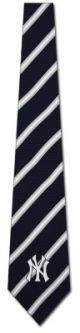 TG-2015110704 - MLB New York Yankees Stripe II Ties Neckties detailed image