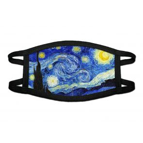 501170-M1 - Starry Night Face Mask Deluxe detailed image