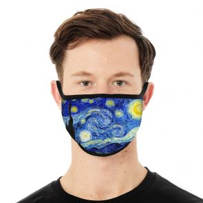 501170-M1 - Starry Night Face Mask Deluxe swatch