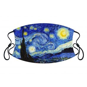 501170-M2 - Starry Night Face Mask Premium detailed image