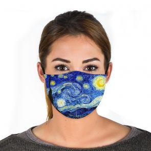 501170-M2 - Starry Night Face Mask Premium swatch