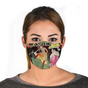 501980-M2 - Dance at the Moulin Rouge Face Mask Premium swatch