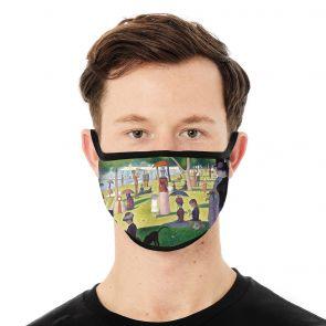 502064-M1 - Island of La Grande Jatte Face Mask Deluxe swatch