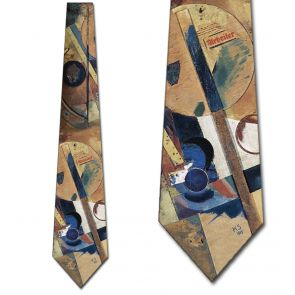502082 - Kurt Schwitters Collage Ties Neckties detailed image