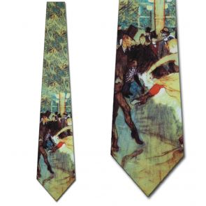 RM-151829 - The dance at the Moulin Rouge Ties Neckties detailed image