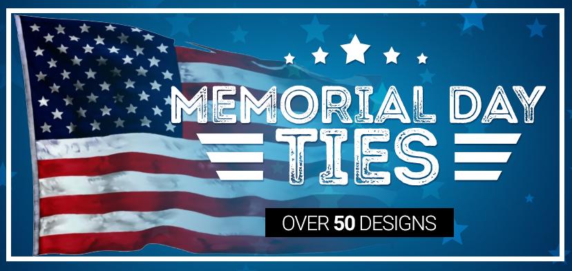 Memorial Day Ties and Neckties