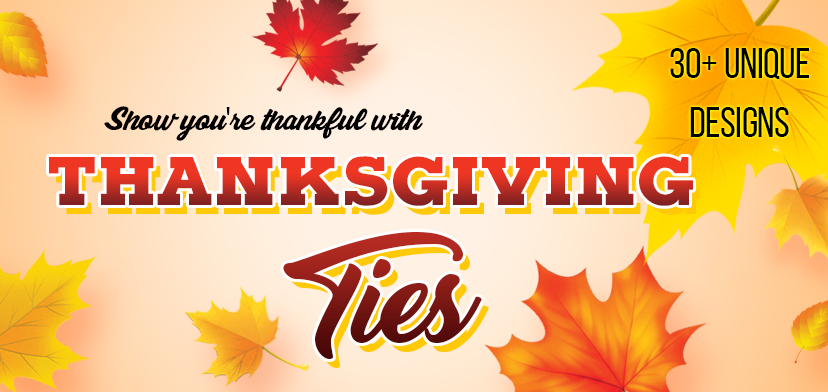 Thanksgiving Ties and Neckties